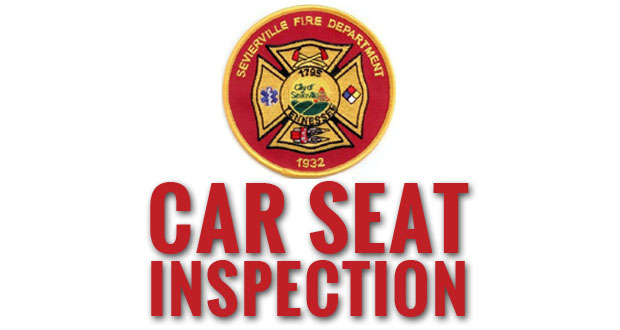 sevierville fire department holding child car seat safety inspection sevier news messenger. Black Bedroom Furniture Sets. Home Design Ideas