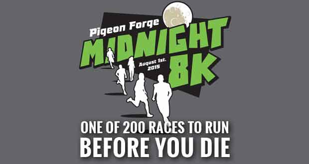 Pigeon Forge Midnight 8k One Of 200 Races To Run Before