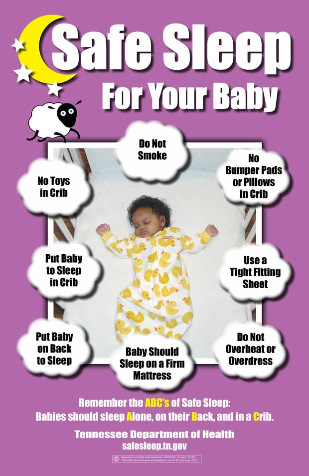 Leconte Promotes Safe Sleep During Sids Awareness Month