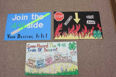 Winners Chosen From 2 230 Entries In 4 H Poster Contest