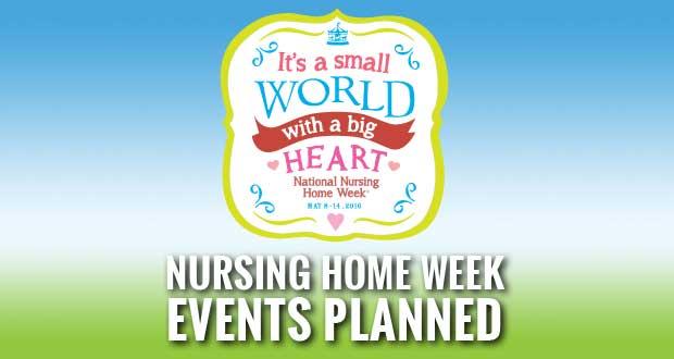 Health and rehabilitation center celebrates nursing home week