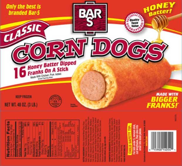 Bar Hot Dogs Recall